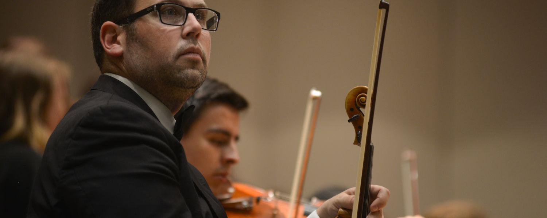KSU Orchestra, violin