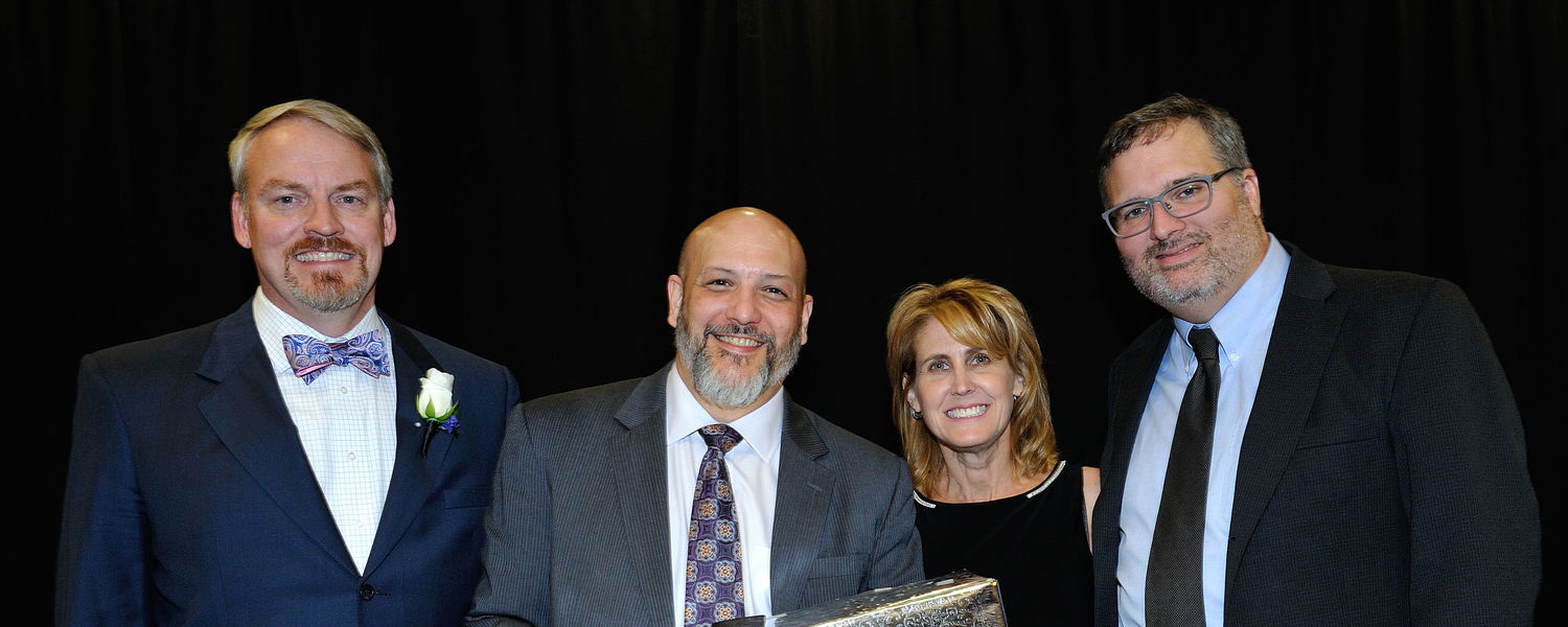 TeleProductions earned the President's Award from the Margaret Morgan Clark Foundation at a ceremony in November 2016.