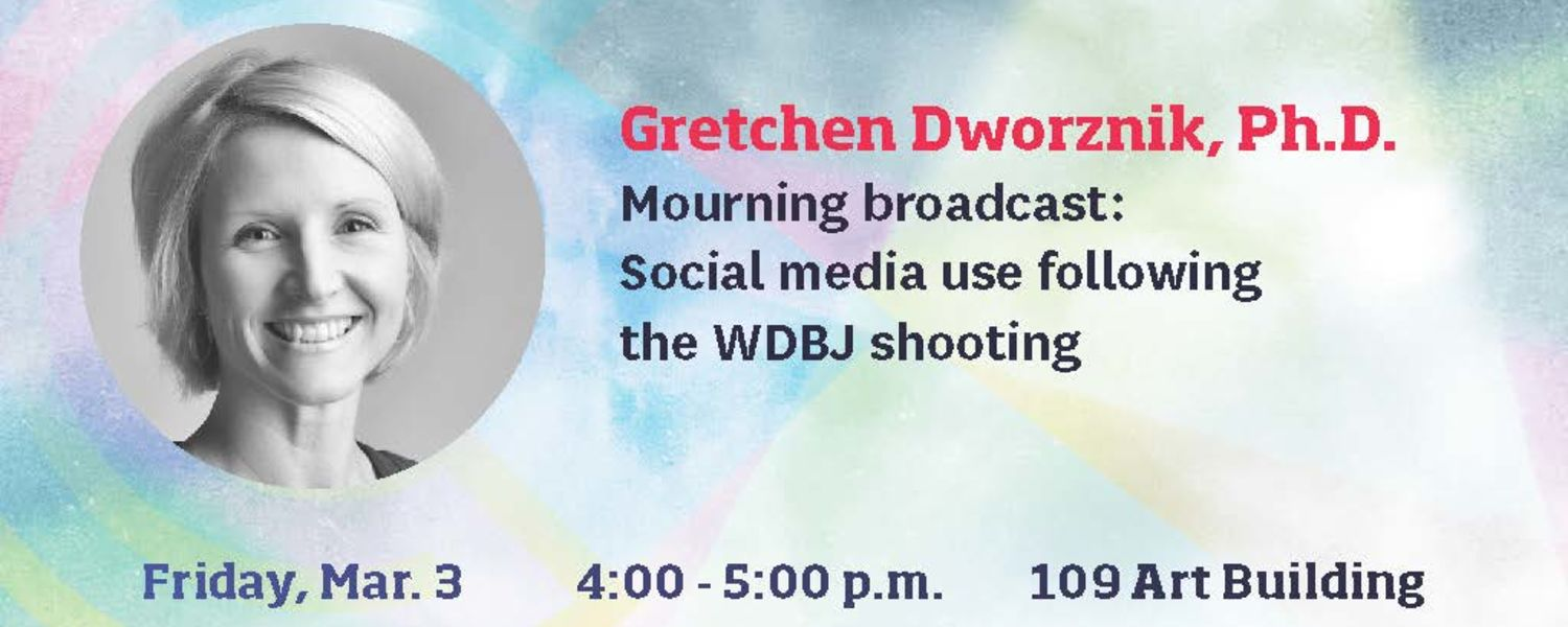 School of Communication Studies to Host Research Colloquium on WDBJ Shooting
