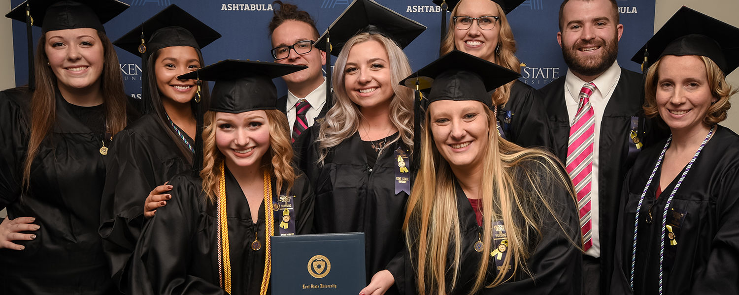 Ashtabula campus graduates celebrate at commencement