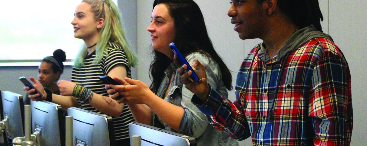 Students in the Media, Power and Culture Class