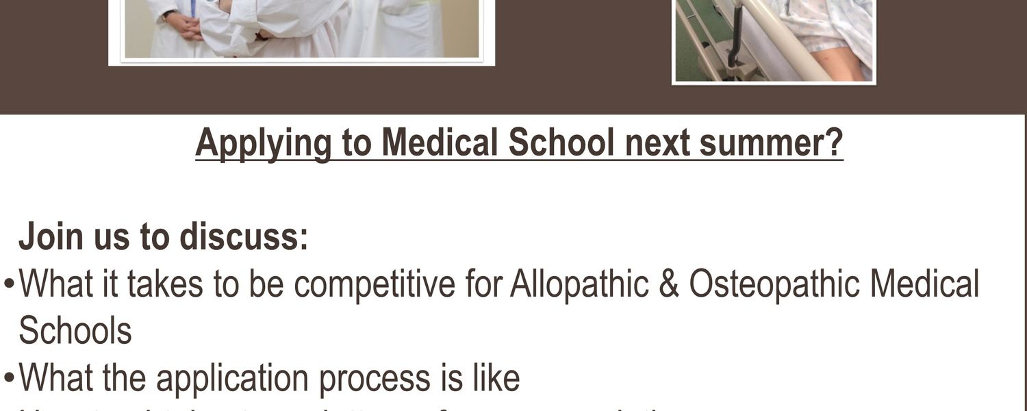 Medical School Application Workshop