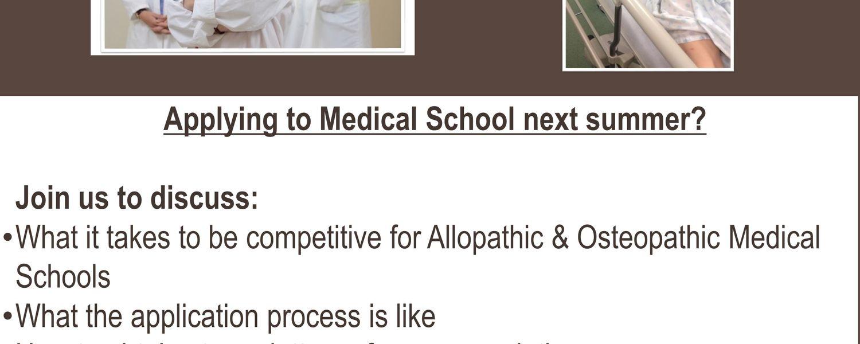 Medical School Application Workshop