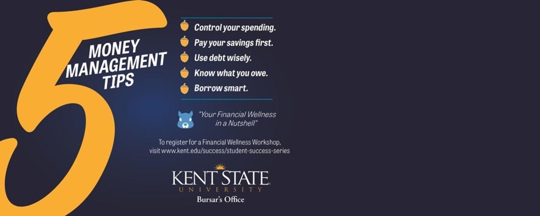 Money management tips.