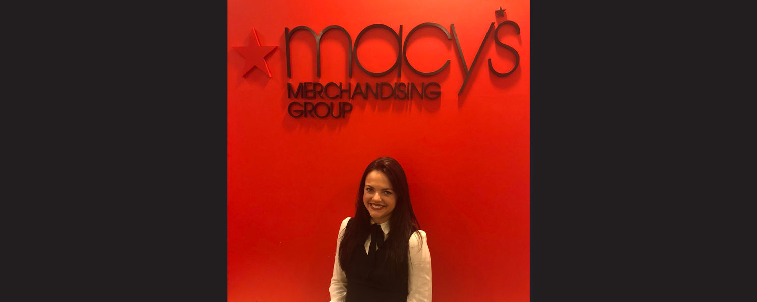 Nichole Ross, a 2017 Kent State Stark graduate, is working at Macy's headquarters in New York City.