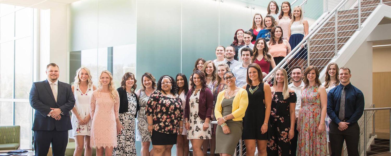 Spring 2018's nursing class marks the 10th anniversary of nursing graduates at Kent State Stark.