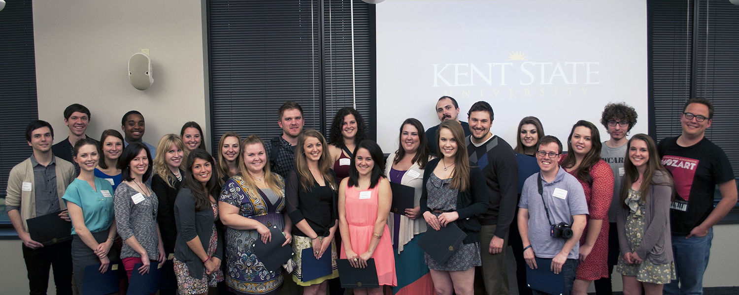 The School of Journalism and Mass Communication at Kent State finished in eighth place in the overall national championship of the Hearst Journalism Awards Program, and it also earned seventh place rankings in both the photojournalism and multimedia categ