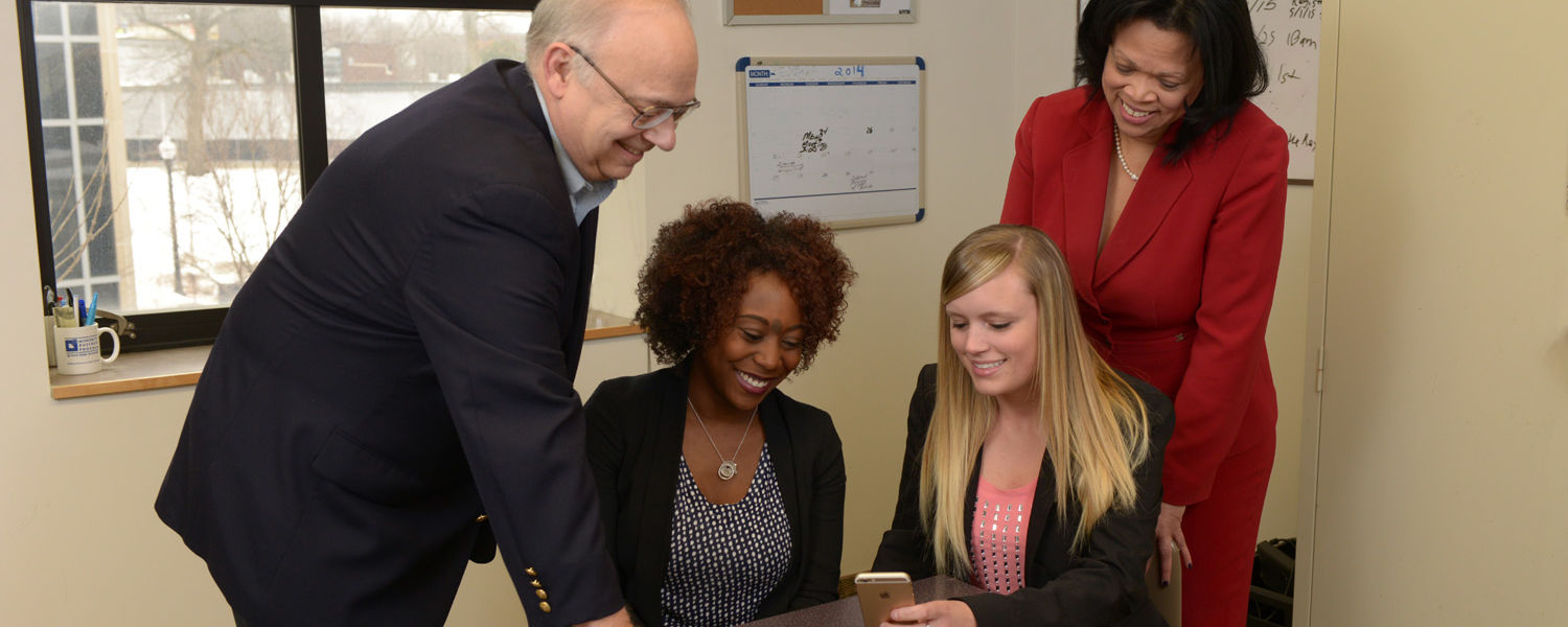 Angela Neal-Barnett, Ph.D., and Arden Ruttan, Ph.D., along with their student research team, design, develop and study an app to reduce teen stress.