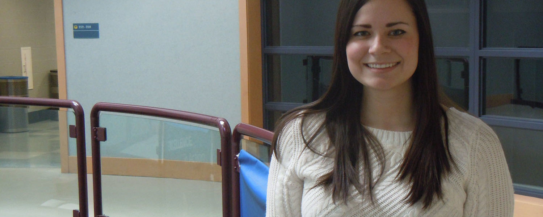 Kent Trumbull student Nicole Sandrella