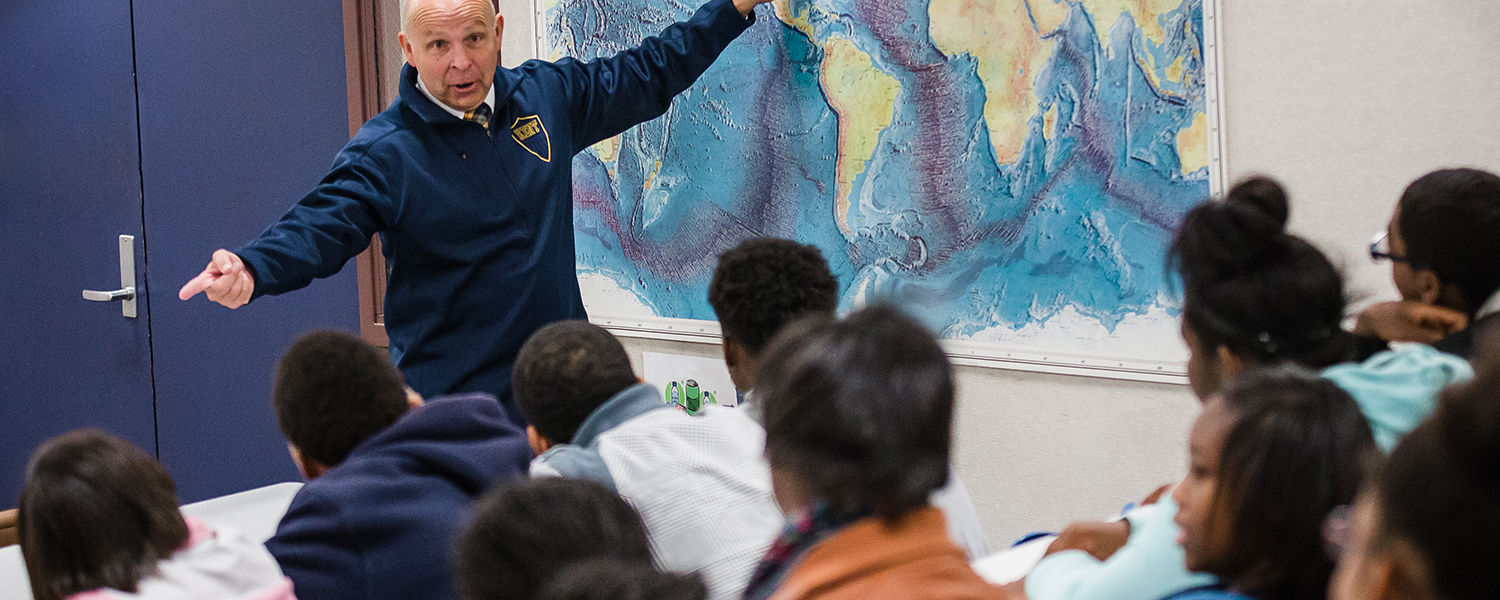 Curt Tinlin serves as Kent State Stark's ambassador to the educational community.