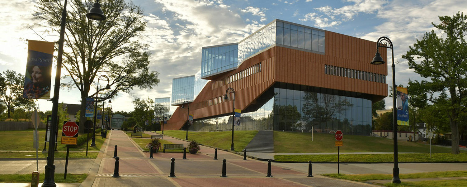Kent State University's Center for Architecture and Environmental Design has received LEED Platinum Recognition, the highest ranking for the LEED system. It is Kent State's first LEED Platinum building.