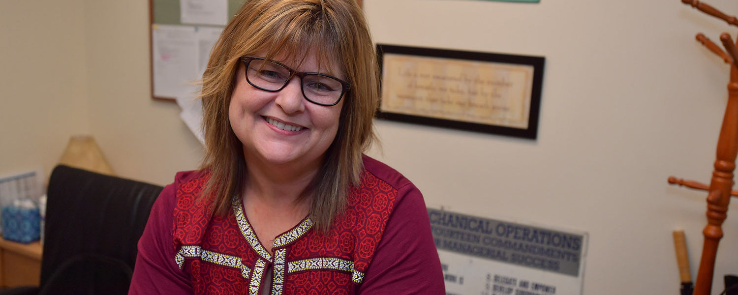 Kent State Housekeeping Manager Lisa Ferrell has received national recognition.