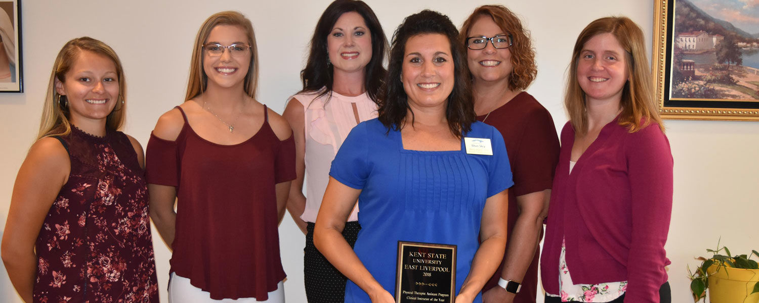 Clinical Instructor of the Year Mindy Madzia