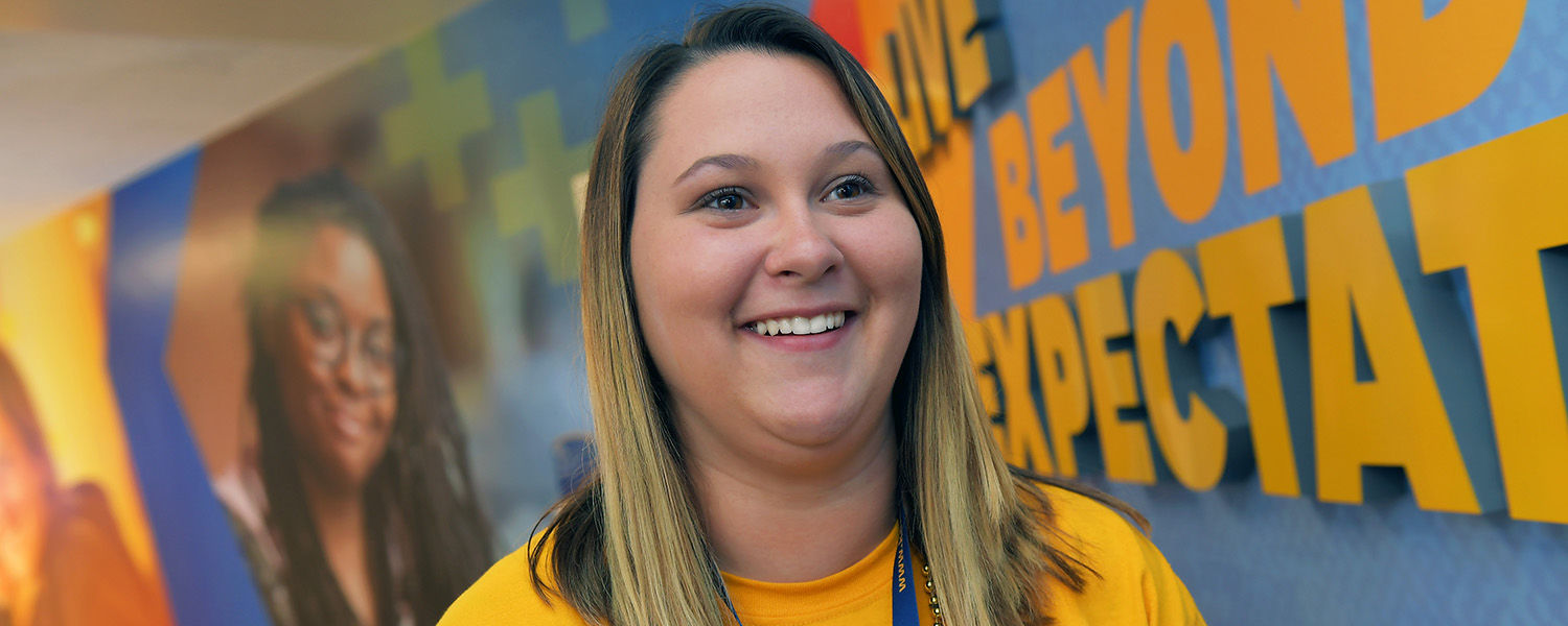After her father passed away, Mackenzie Bailey chose to return to the Kent Campus with the encouragement of her mentors in Kent State's EXCEL Learning Community.