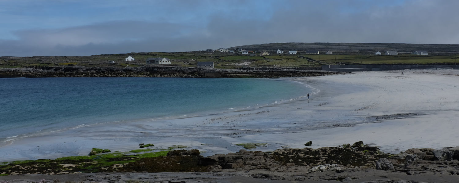 As part of her research, Kent State student Anna Hoffman visited Inis Mór, an island in the Gaeltacht which is heavily Irish-speaking. (Photo credit: Anna Hoffman)