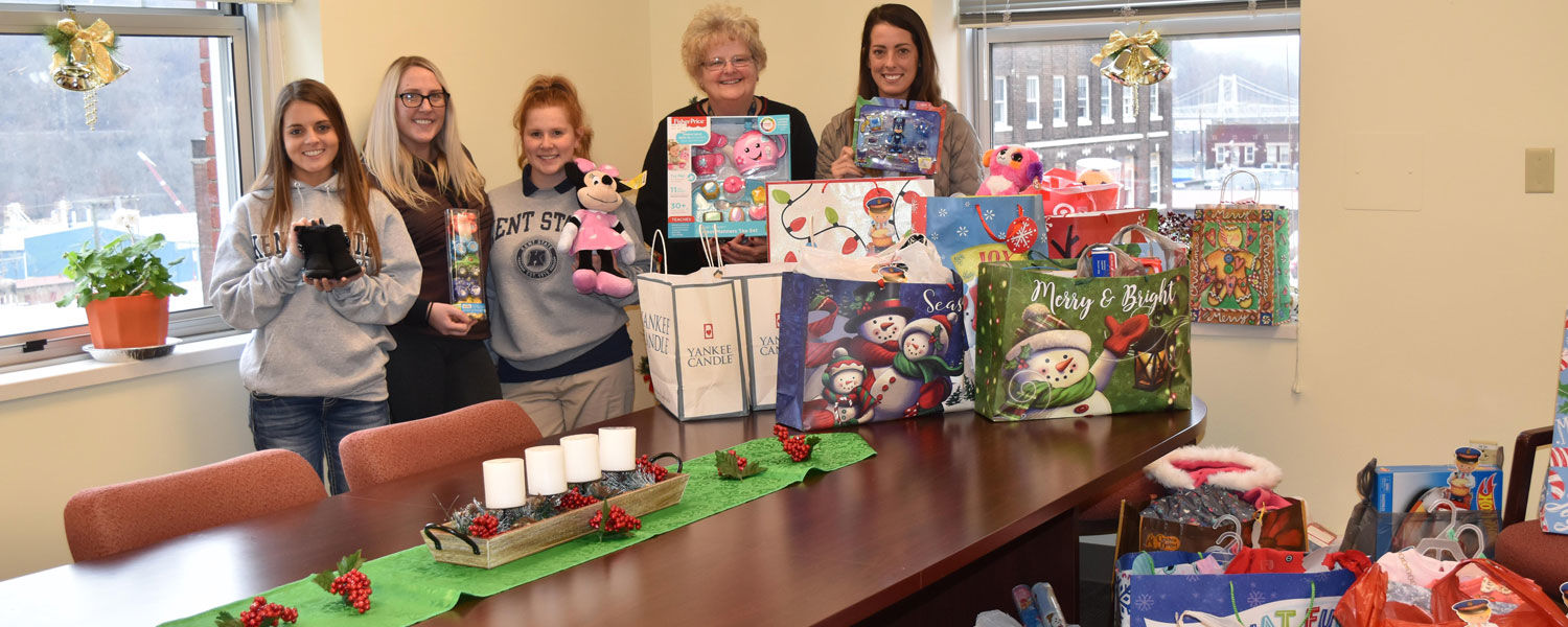The collection of gifts from SNA to the Salvation Army
