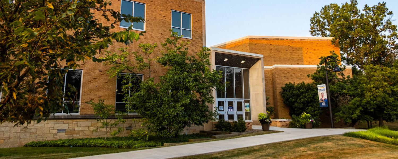 Glauser School Exterior Sunrise   Photo Credit: Andrew Paa