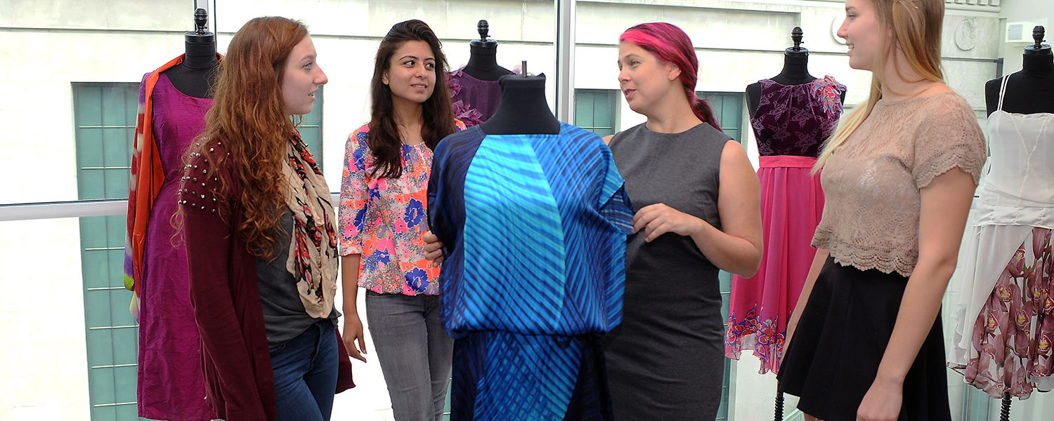 Scholar Blends Art And Technology In Textiles And Fashion Kent State University