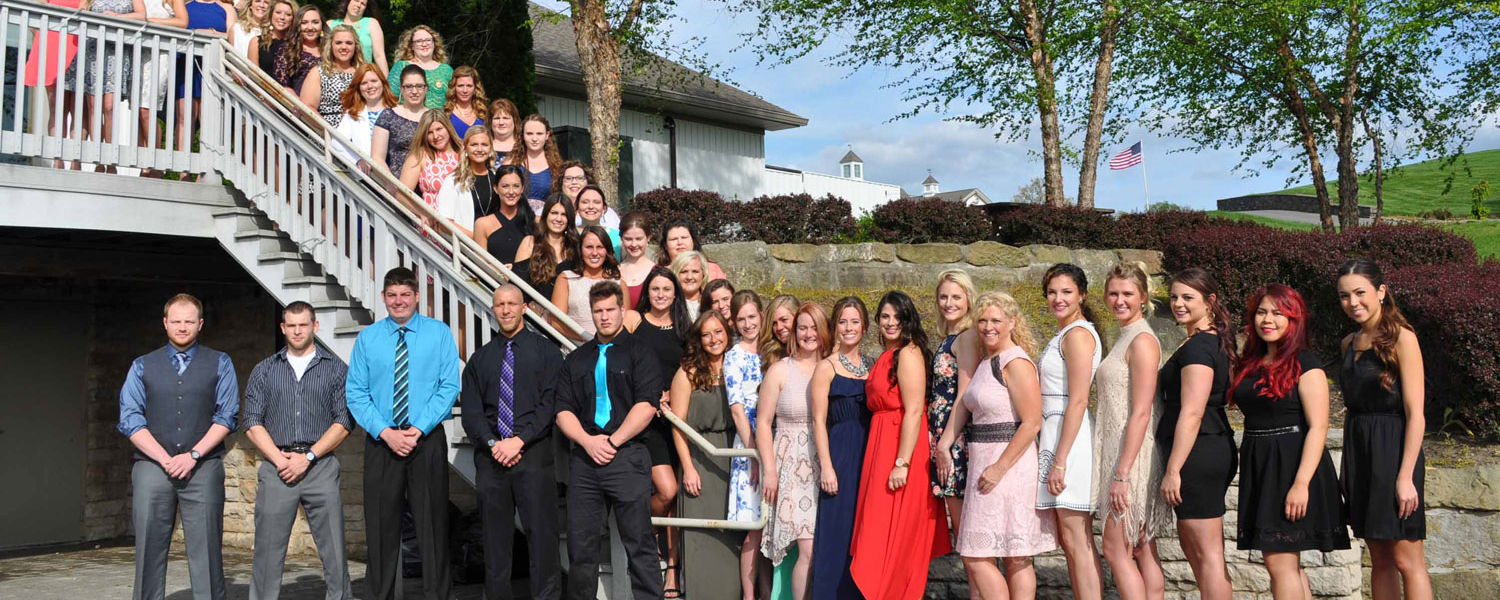 Nursing students at Kent State Salem received their pins during the 2016 Convocation