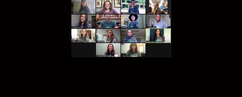 Screen shot of BHRI Undergraduate Fellows 2021