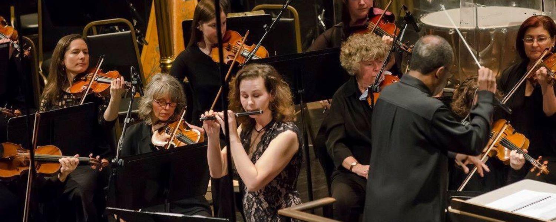 Amy Likar with the Oakland Symphony
