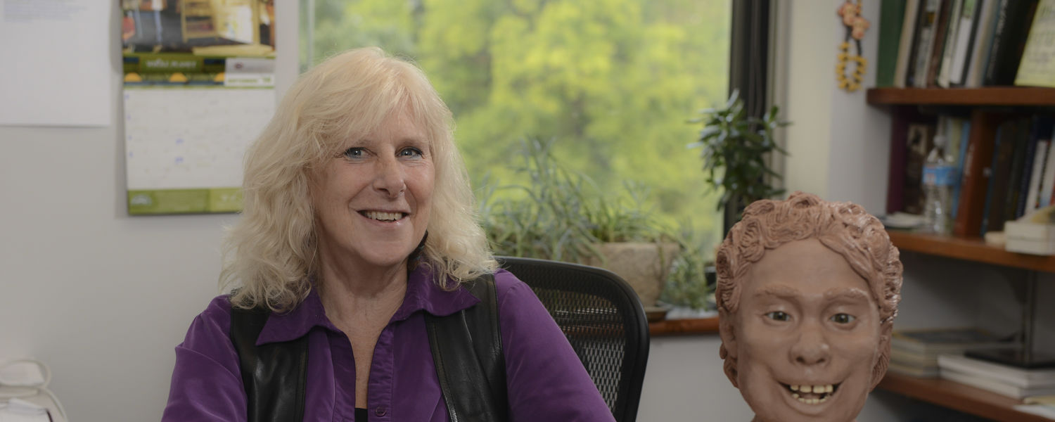 Linda Spurlock, Ph.D., Department of Anthropology, is the recipient of the 2015 Distinguished Honors Faculty Award.
