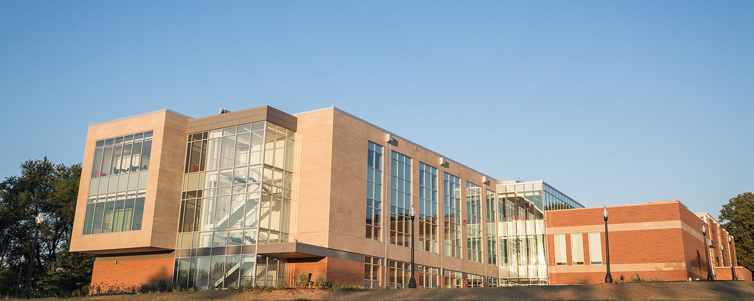 Kent State Stark's new Science and Nursing Building supports the science programs and houses teaching and research laboratories for biology, physics, geology and nursing.