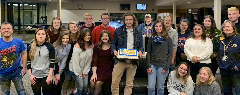 Student Media Celebrates Awards
