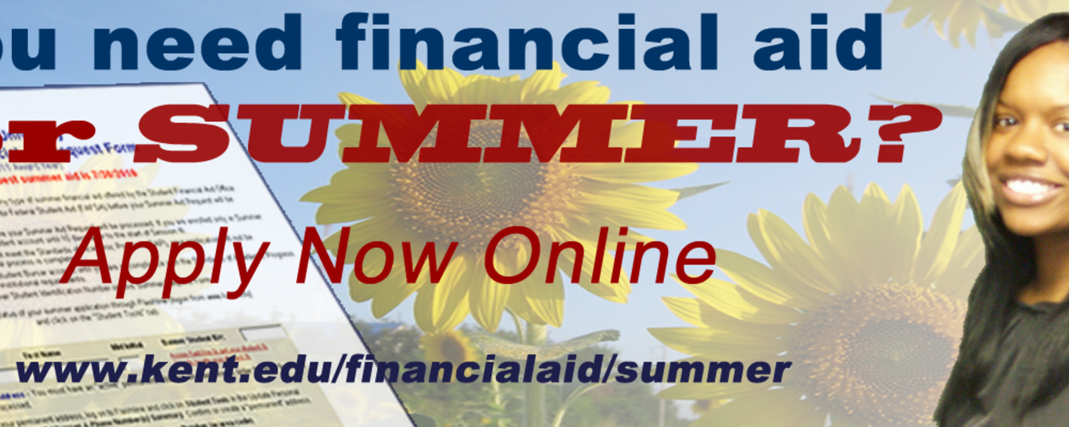 Student Financial Aid Summer Financial Aid Request Form