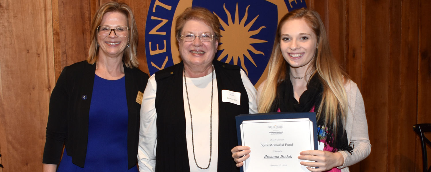 Kent State Geauga and Regional Academic Center awards scholarships to students