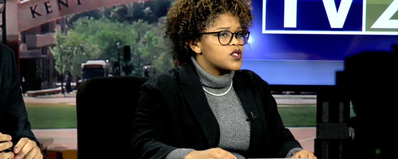 TV2 students produce a newscast