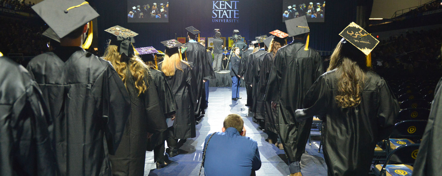 Photojournalism Student Nathaniel Bailey Photographs Commencement Ceremony