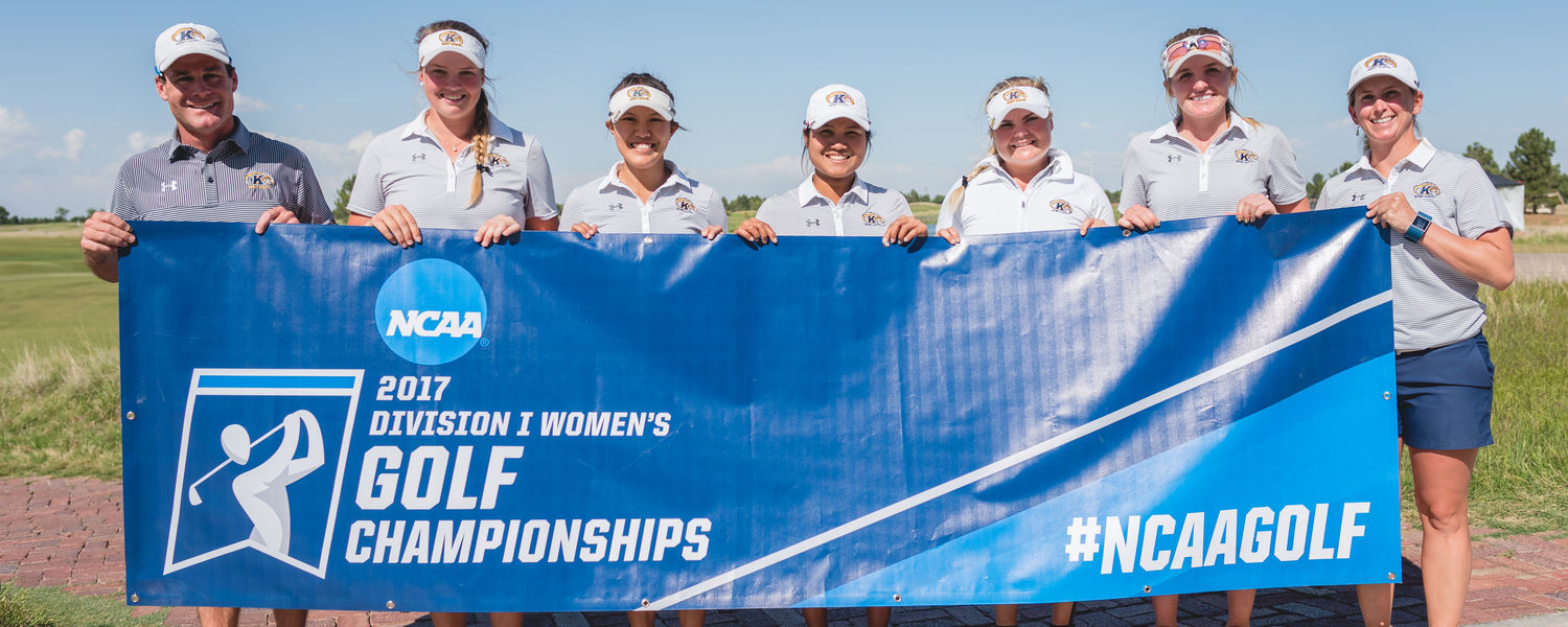 The Kent State women's golf team finished tied for fifth at the 2017 NCAA National Championship.