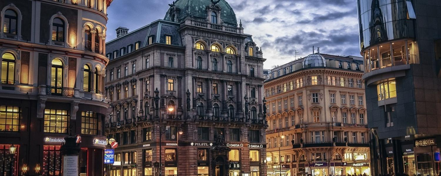 Picture of the streets of Vienna