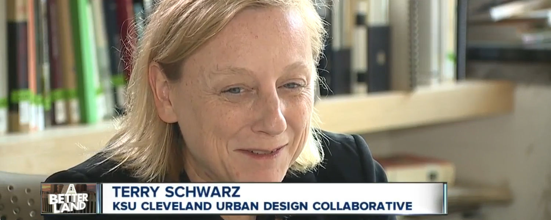 Kent State Urban Design Collaborative Director Terry Schwarz