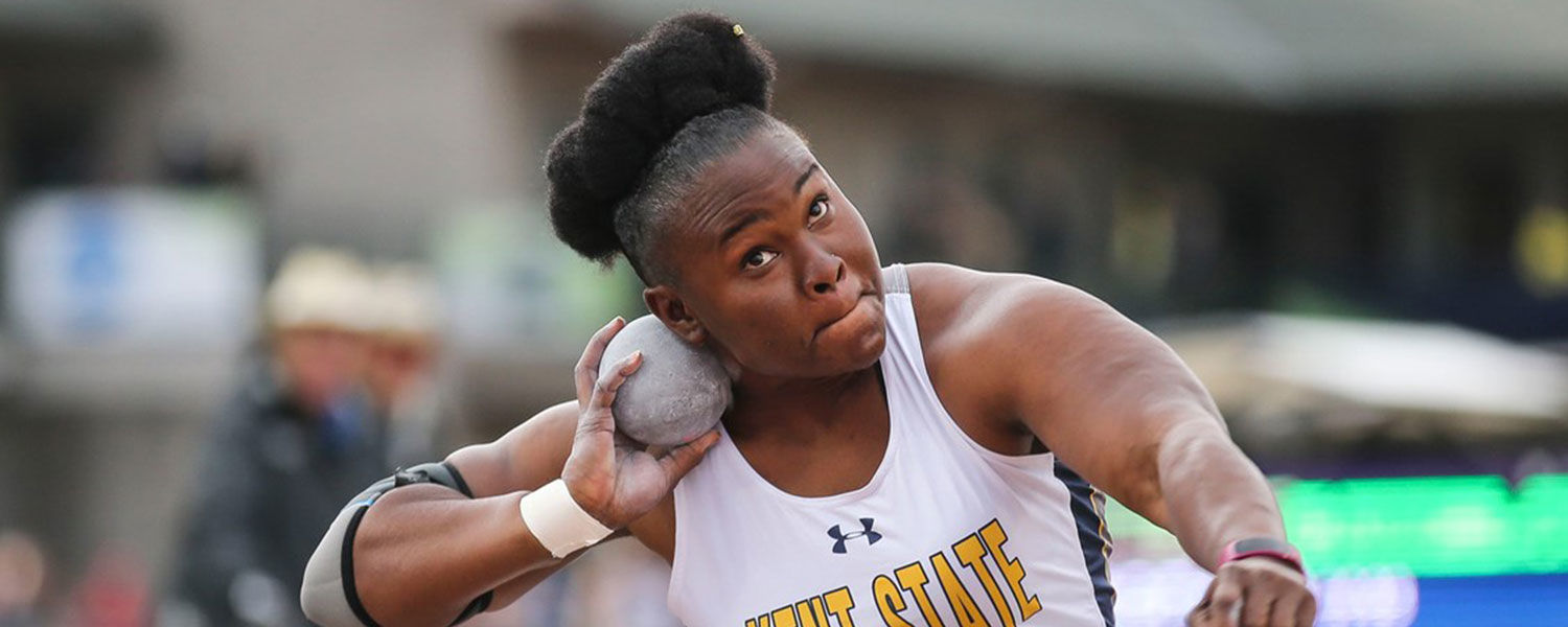 Kent State's Danniel Thomas-Dodd, who captured the 2017 NCAA Division I Women's Shot Put National Championship, has been nominated for the 2017 NCAA Woman of the Year award.