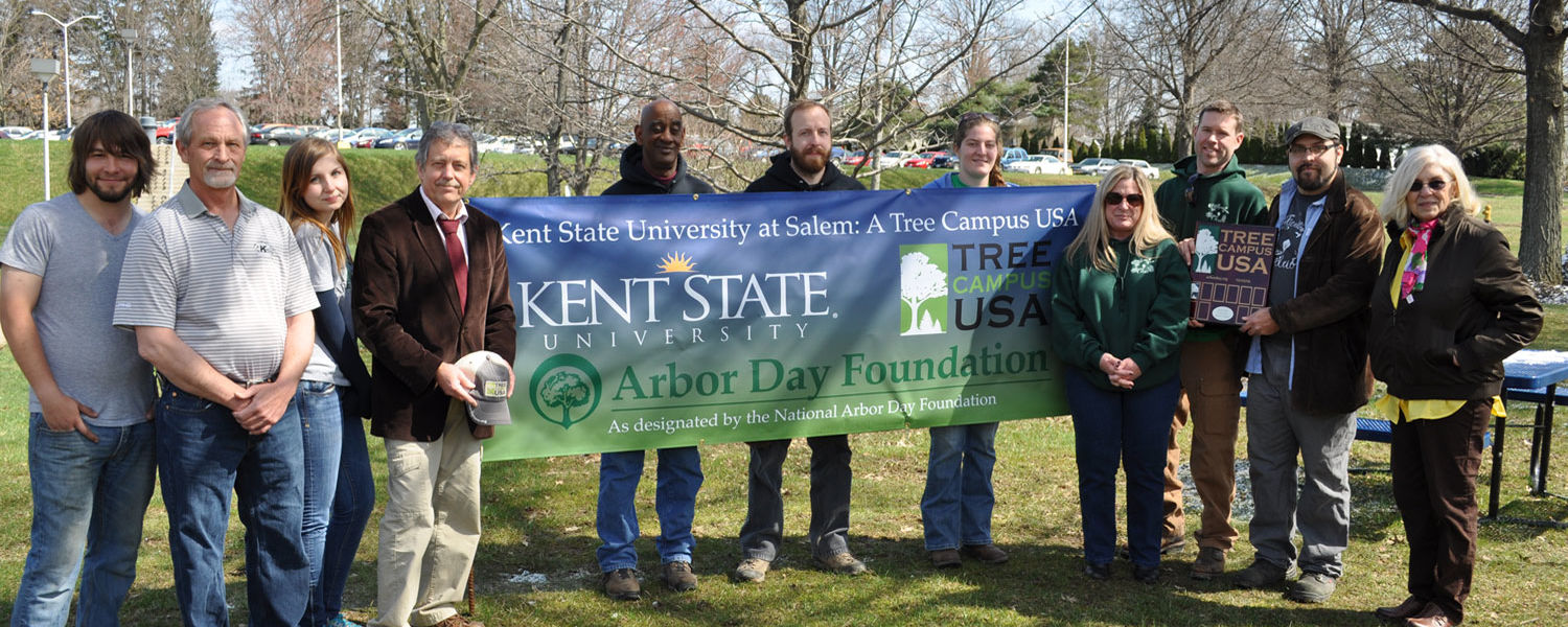 Kent State Salem Again Named Tree Campus USA.