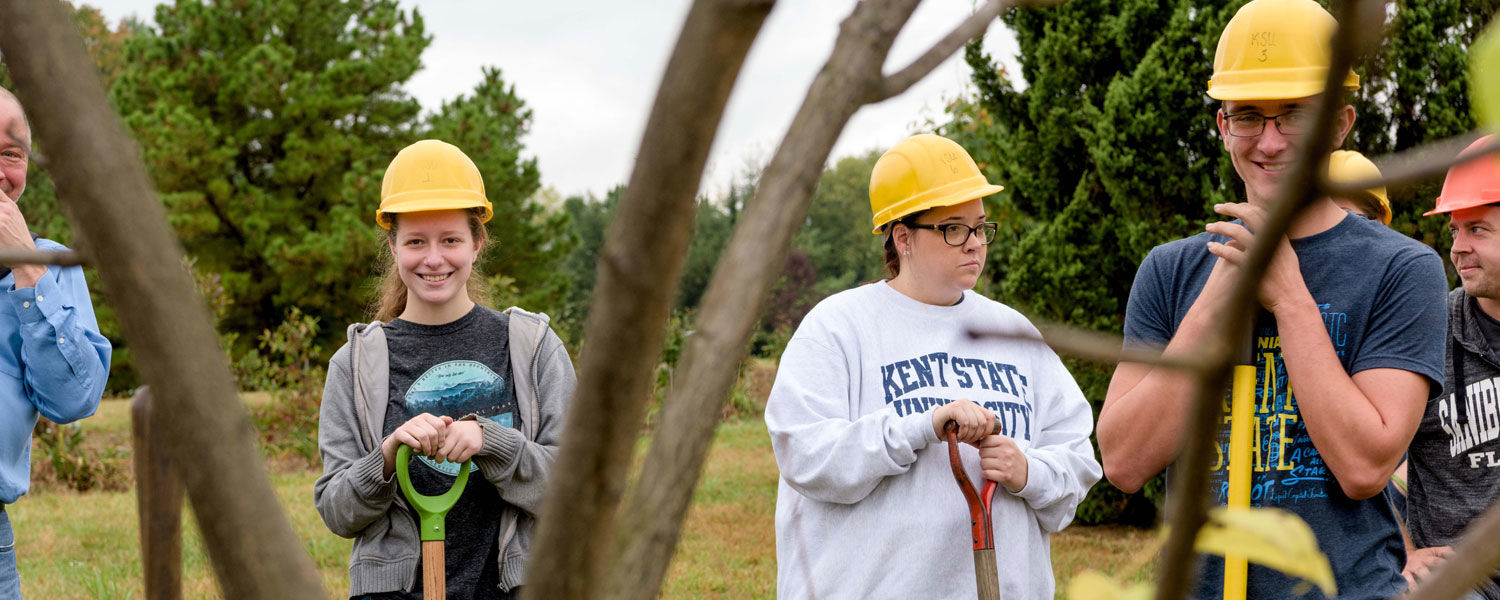 Kent State University at Salem recognized by the Arbor Day Foundation.
