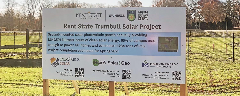 KSU Trumbull Solar
