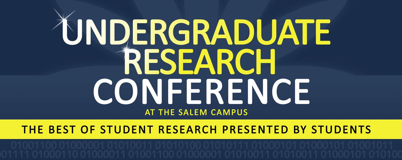 Research Conference Dec. 11 at Salem Campus