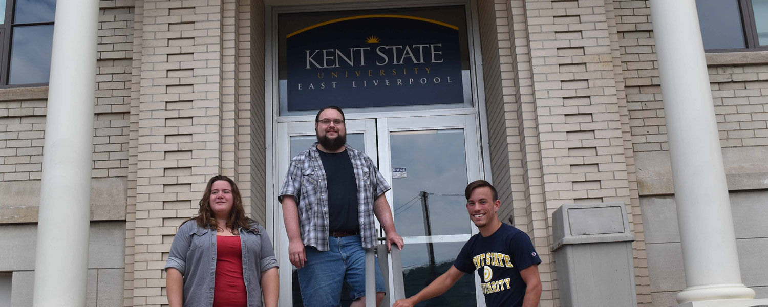 Kent State East Liverpool officers for the Undergraduate Student Government organization