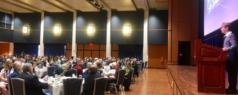 President Warren Speaks at 33rd Annual Senior Honors Luncheon