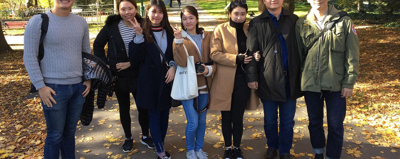 South Korean students
