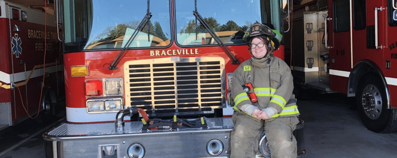 Krysta Forrest at Braceville Fire Department