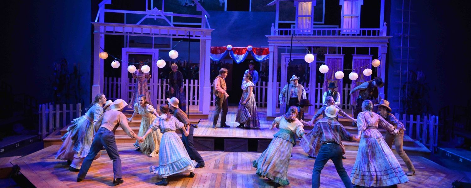 Image from Porthouse's 2018 production of Oklahoma!