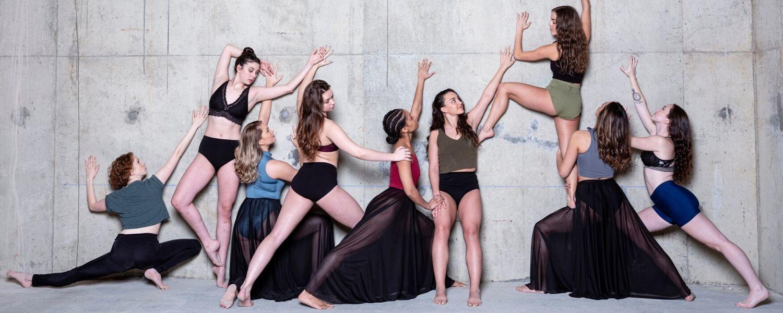 2020 Senior BFA Dance Students