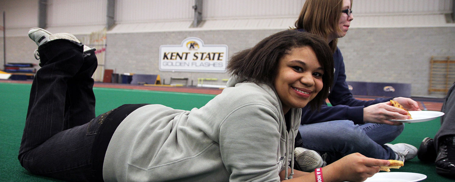 Upward Bound high school students and their families came to Kent State for various Inspiration Day activities, including post-secondary, dual enrollment options and college partner's presentations. Students also were treated to lunch and activities at th