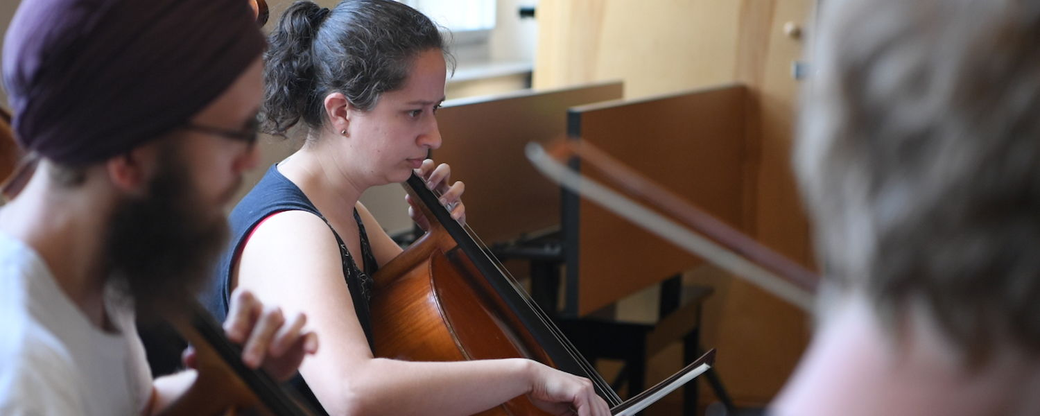 Viviana Pinzon, cello