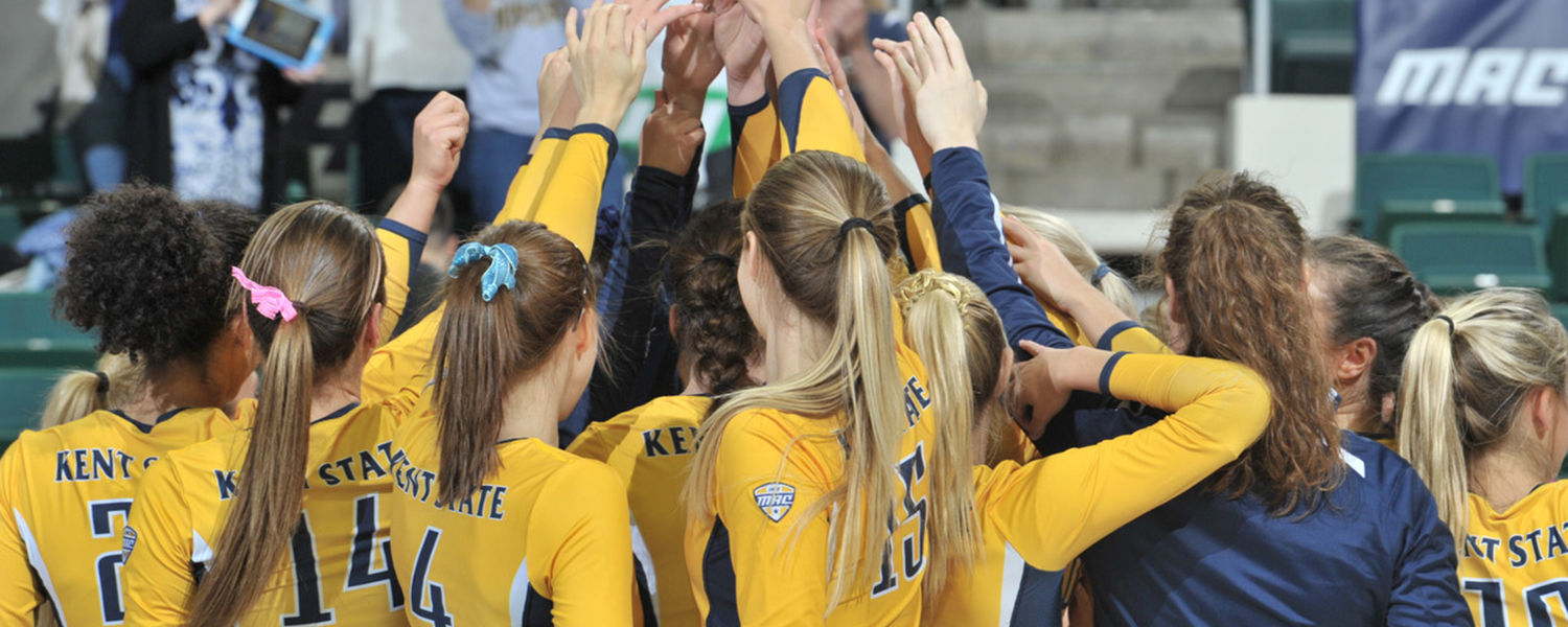 Kent State's volleyball program is one of five Kent State athletic programs to be recognized by the NCAA with a Public Recognition Award for outstanding academic performance.