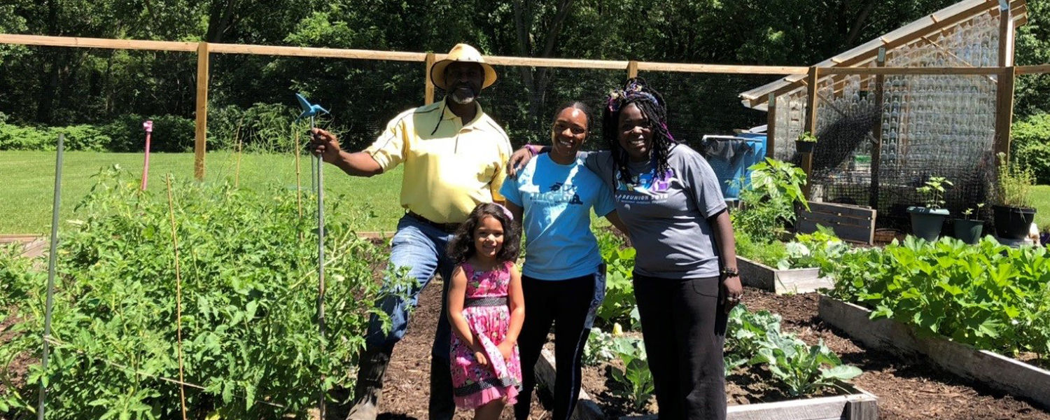 Various members of our garden community assisting with maintenance